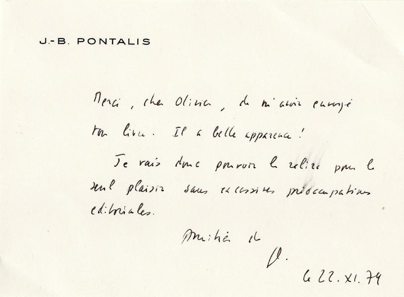 Pontalis Jean-Bertrand
