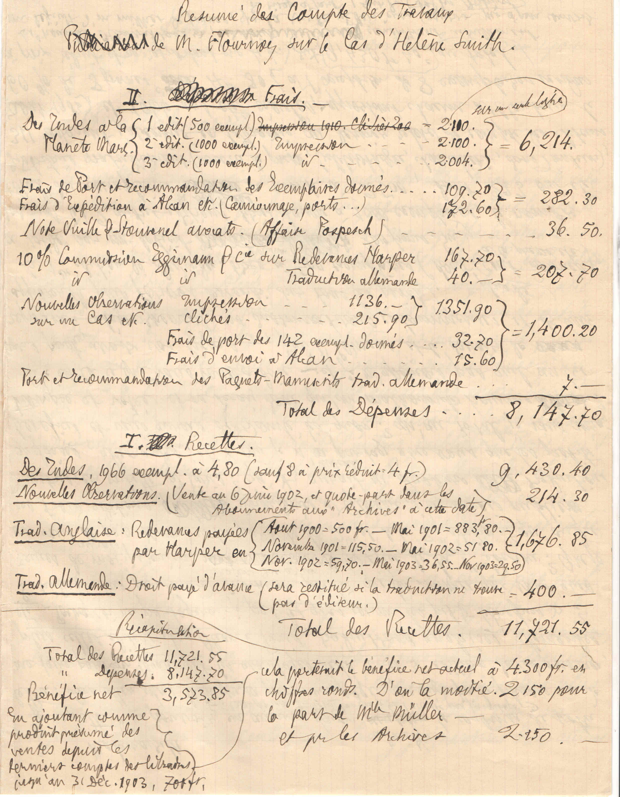 Théodore à Elise, le 4 février 1904