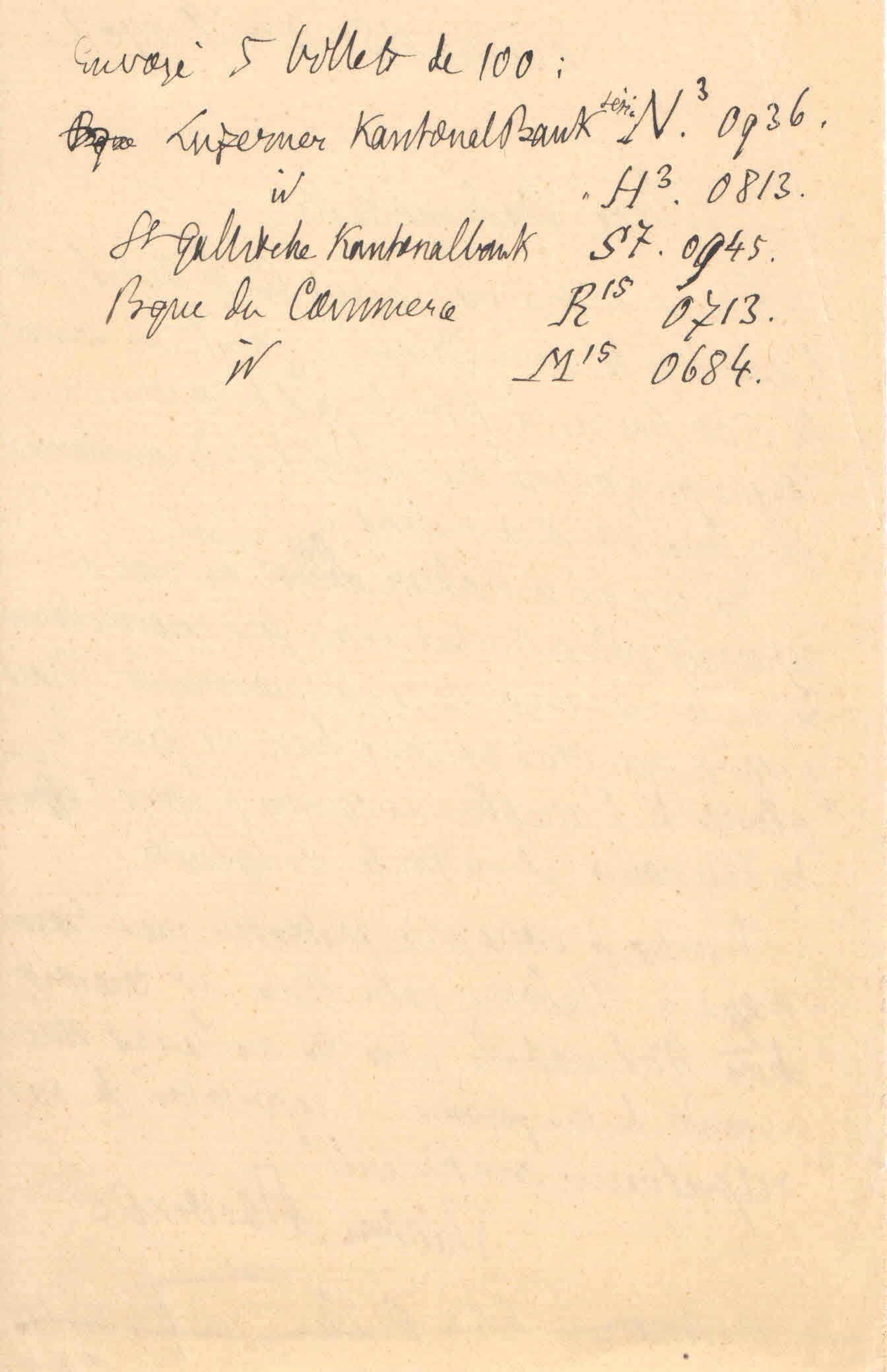 Théodore à Elise, le 25 avril 1902